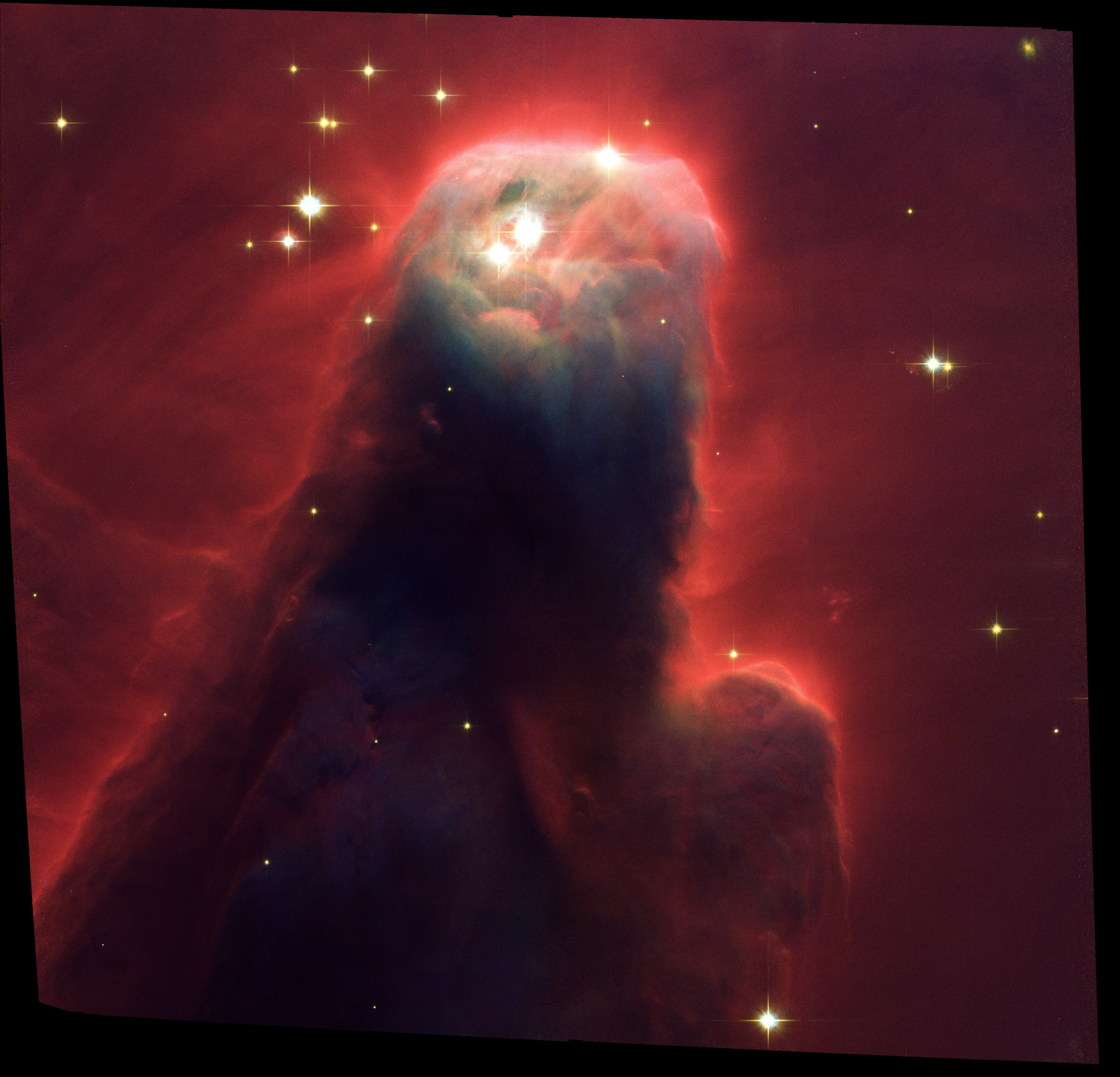 Cone Nebula (NGC_2264) Star Forming Pillar of Gas and Dust