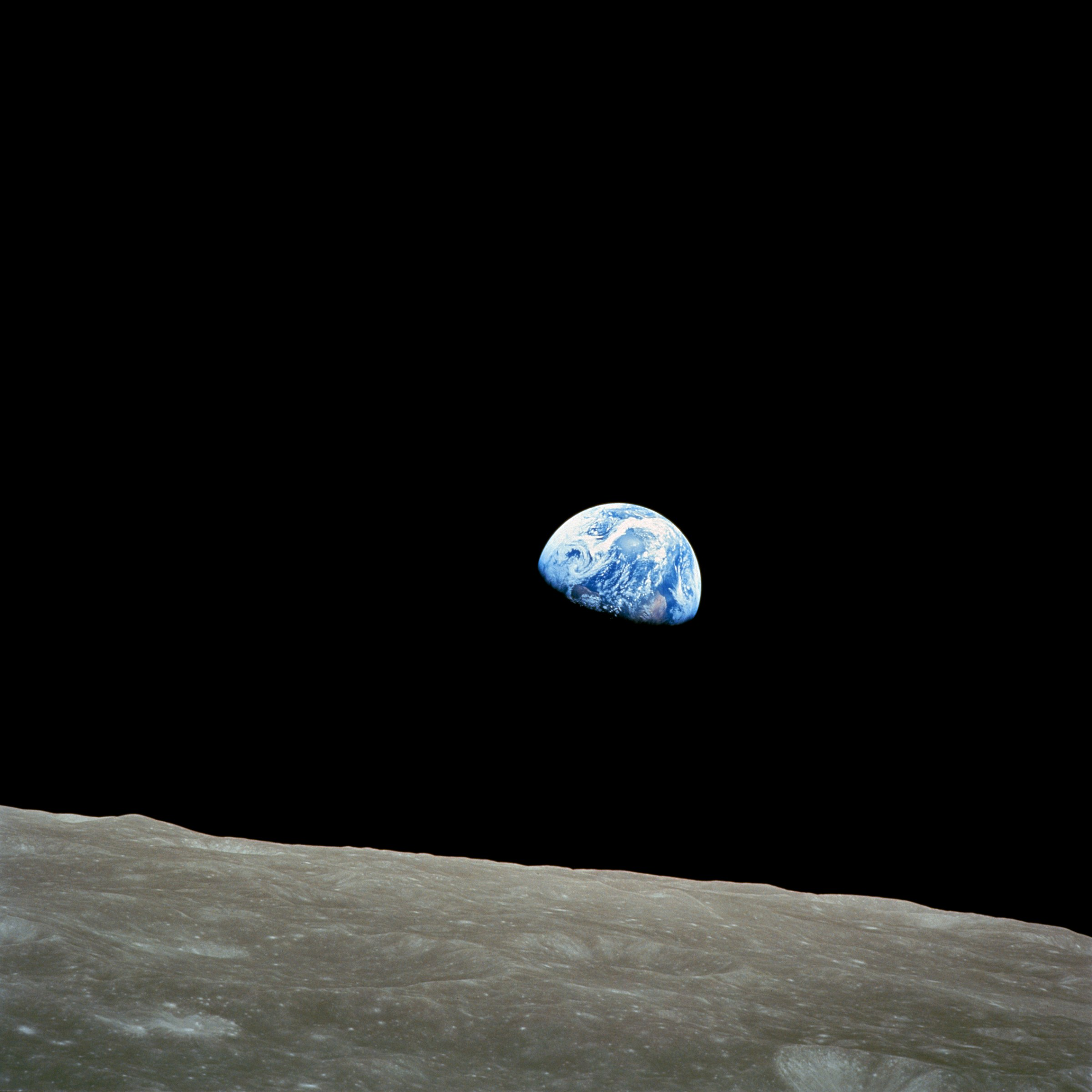 NASA Apollo8 Dec24 Earthrise