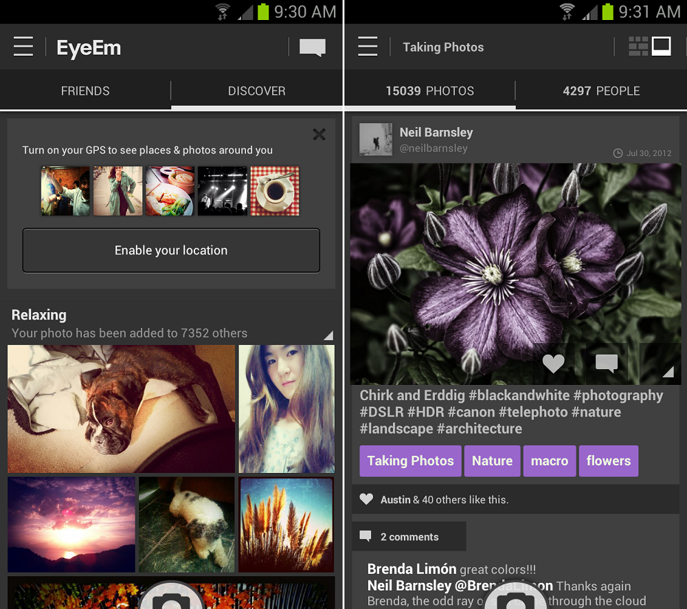 Eyeem Screen