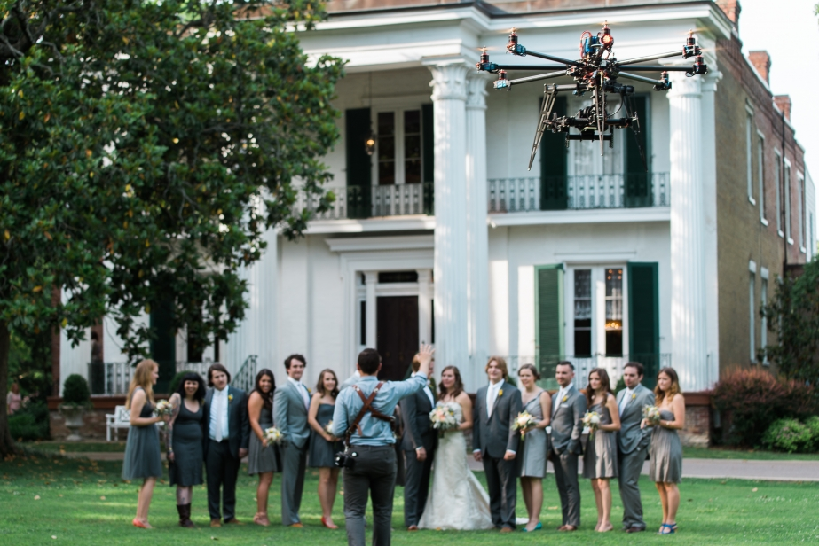 The new age of wedding photography use a drone for Best drone for wedding video
