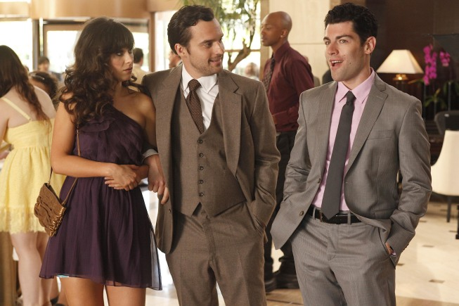 A scene from New Girl
