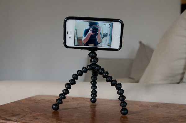 iphone android camera tripod
