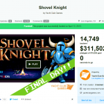 Shovel Knight on Kickstarter