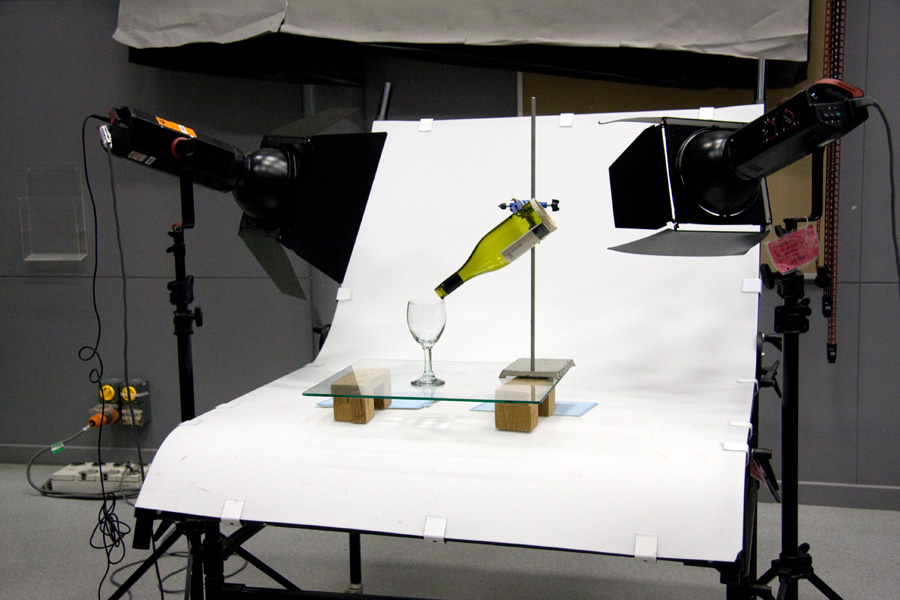 Fashion photography lighting kit