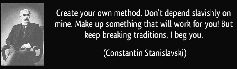 stanislavski system method acting
