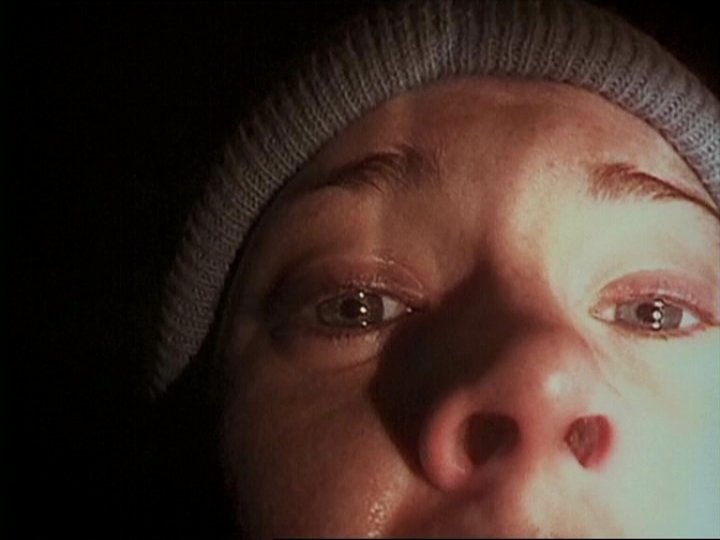 Heather's famous video confession in The Blair Witch Project