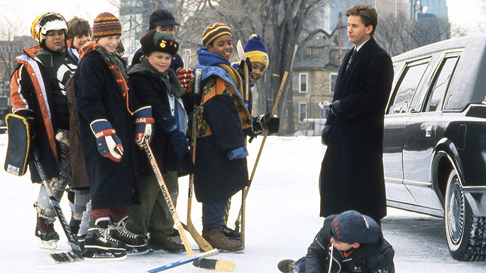 Emilio Estevez in The Mighty Ducks