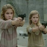 Girls with guns in The Walking Dead