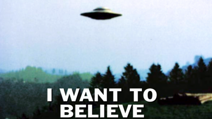 I want to believe - conspiracy theories