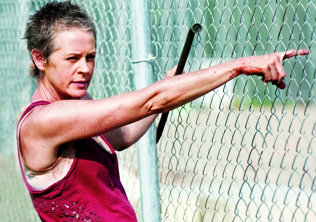 Carol in The Walking Dead