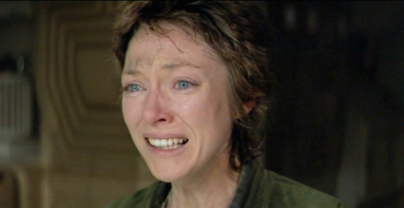 Veronica Cartwright's terrified cry in Alien