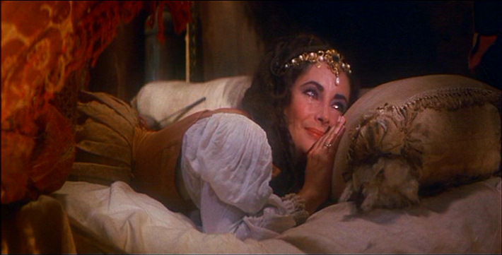 Elizabeth Taylor's happy cry in Taming of the Shrew