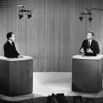 Nixon and Kennedy debate on television