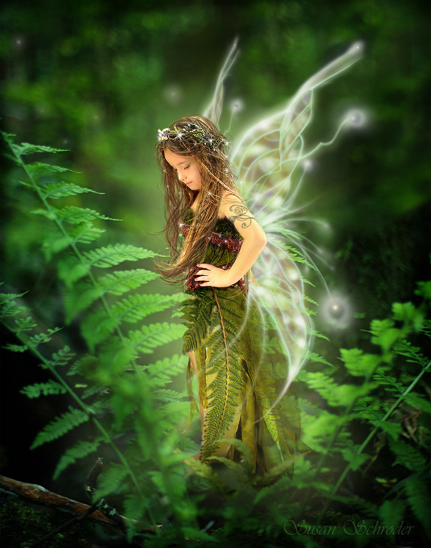 image Fantasy garden with angel kelly amp sade
