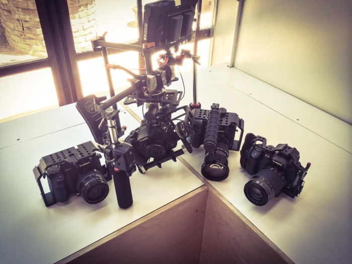 Multiple cameras filmmaking