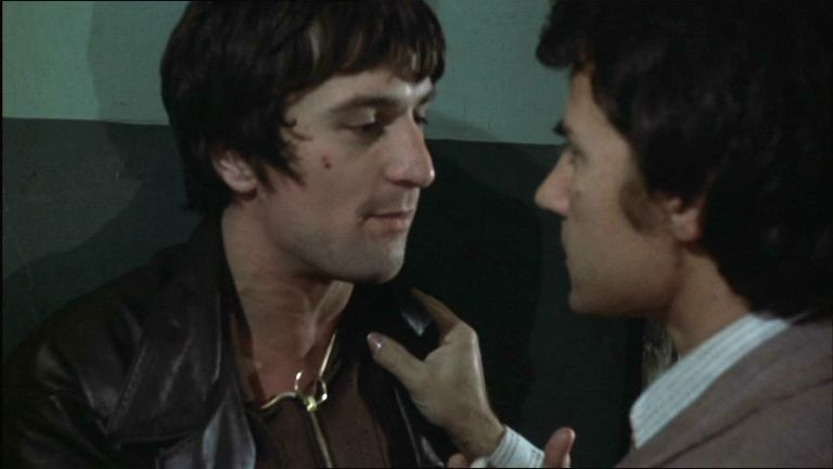 Harvey Keaitel With Robert De-Niro From Mean Streets