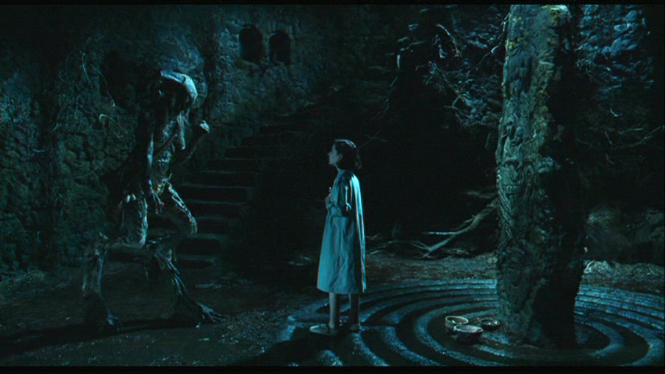 Encountering a creature in Pan's Labyrinth