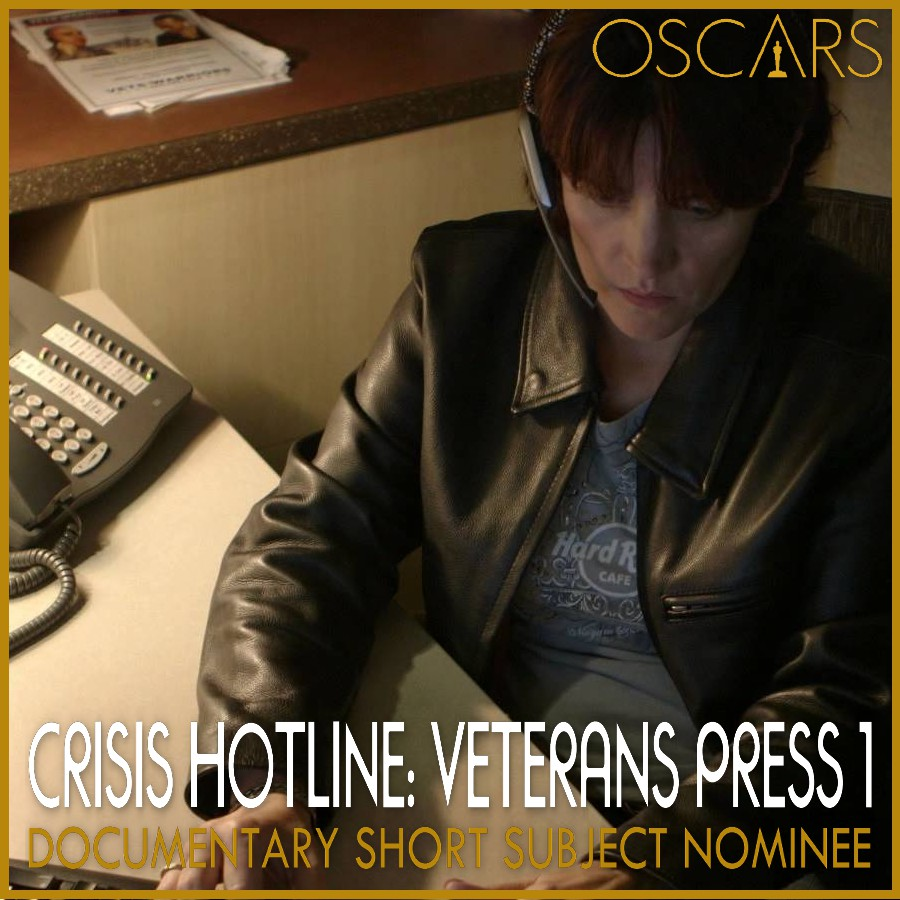 Documentary Short Subject Nominee Crisis Hotline: Veterans Press 1
