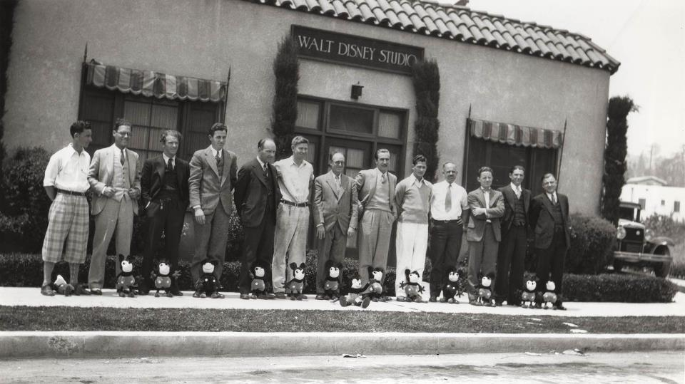 Walt Disney studios history of animation