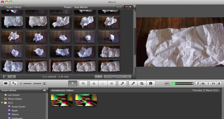 free Mac stop motion software