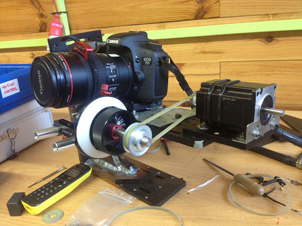 stop motion animation camera rig