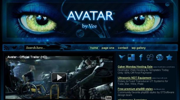 Avatar Website