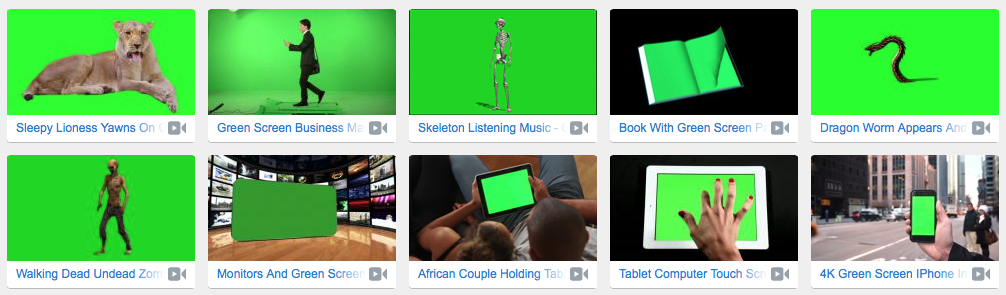 The Best Sites For Green Screen Video Footage