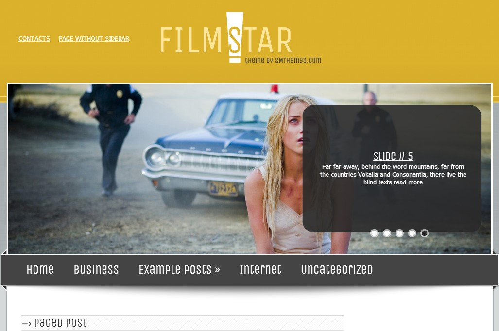 Filmstar website