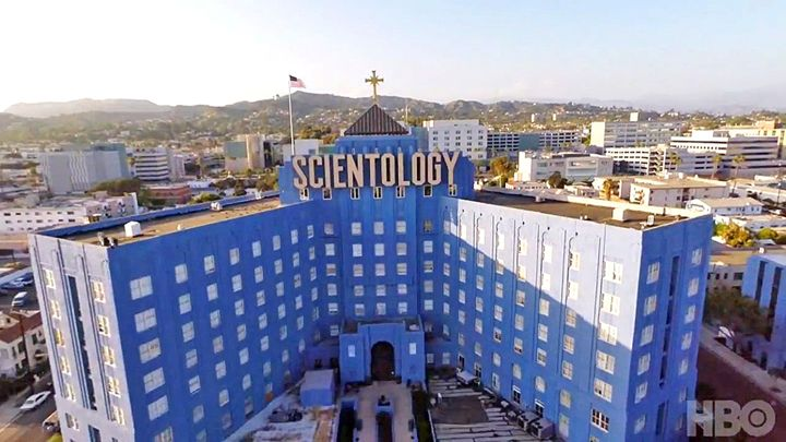 Scientology church from Going Clear
