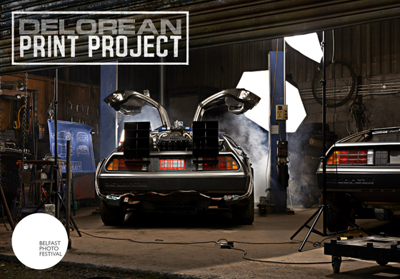 DeLorean Print Project Belfast Photo Festival