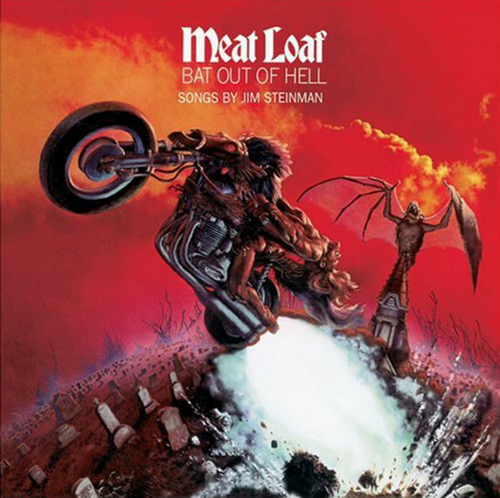famous illustration: Bat out of hell Album