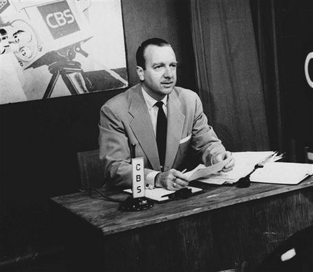 Walter Cronkite on air