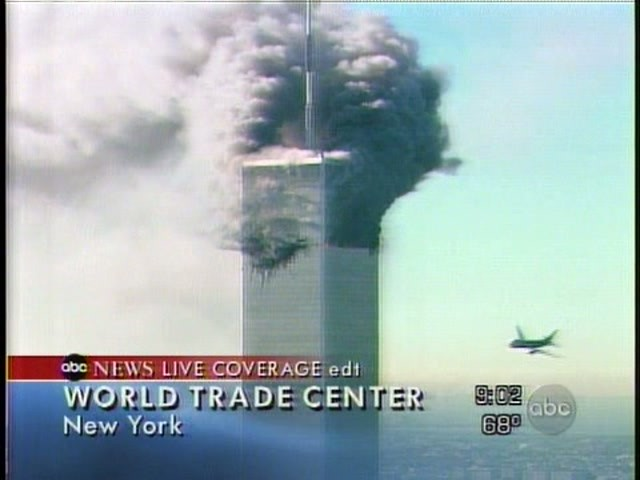 Plane crashes into World Trade Center