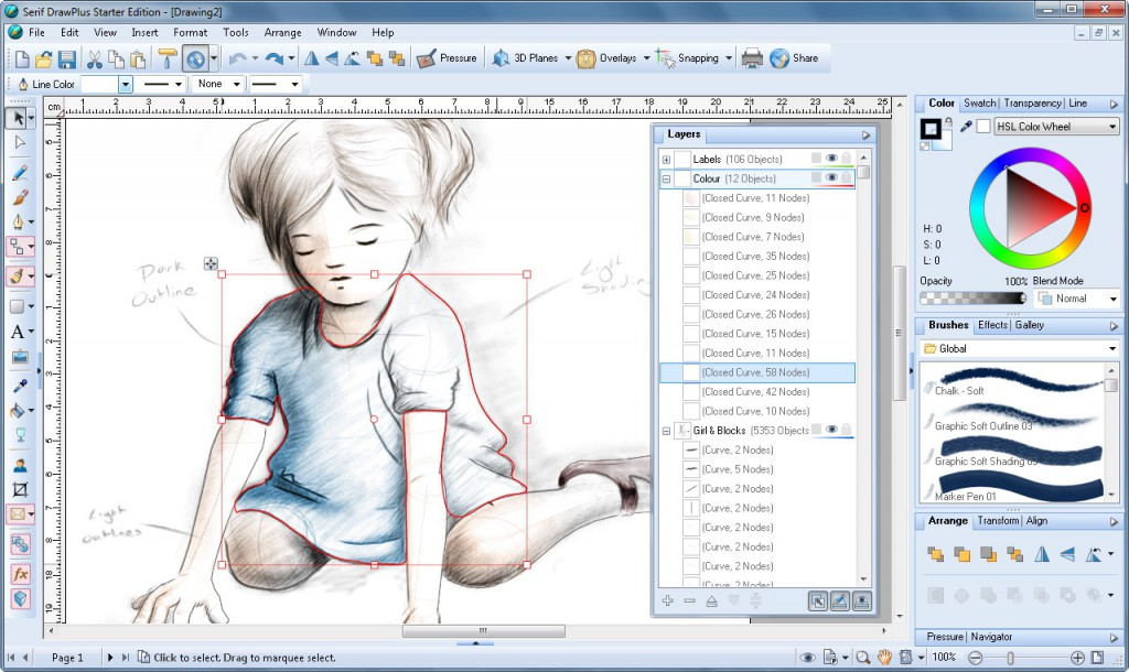 DrawPlus: A Free Alternative to Adobe's Illustrator Software