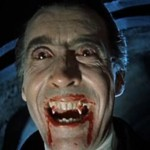 Dracula with blood on his mouth