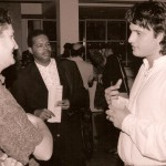 Robert Rodriguez at 1993 Atlanta Film Festival with El Mariachi