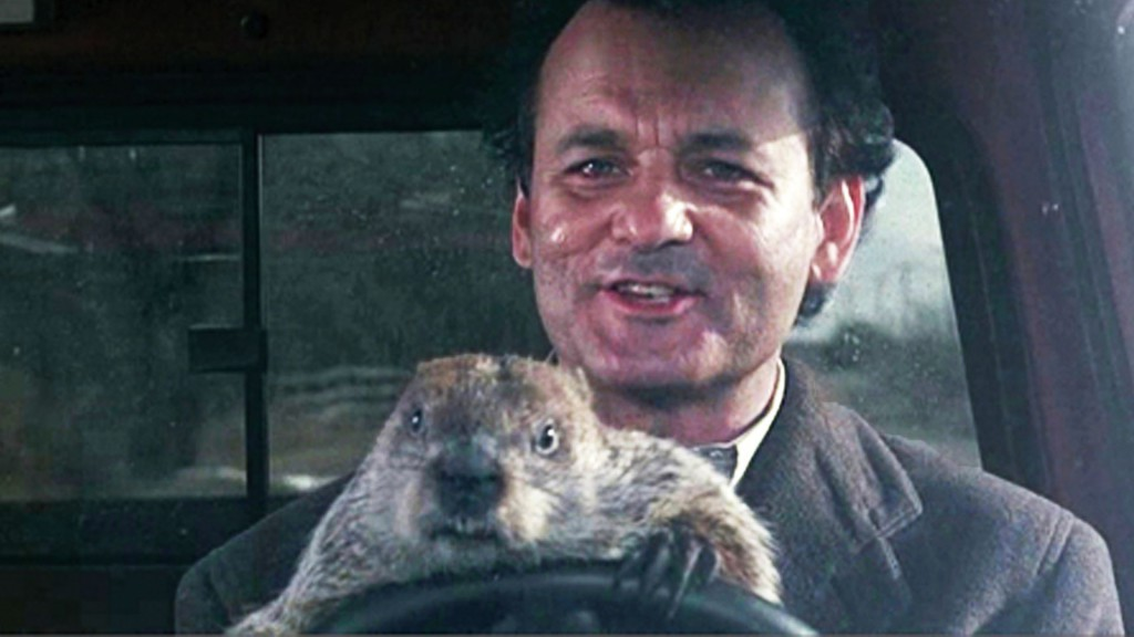 Bill Murray in Groundhog Day