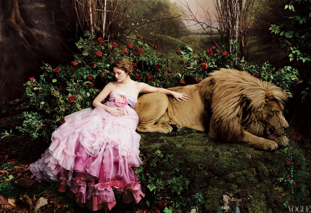 Drew Barrymore shot by Annie Leibovitz