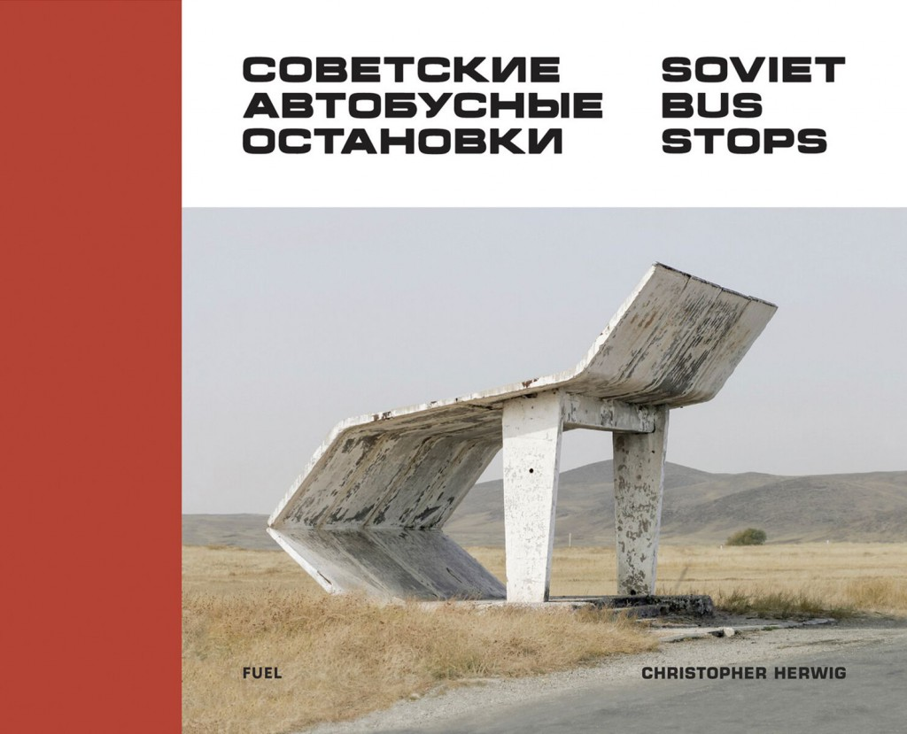 cover of soviet bus stops