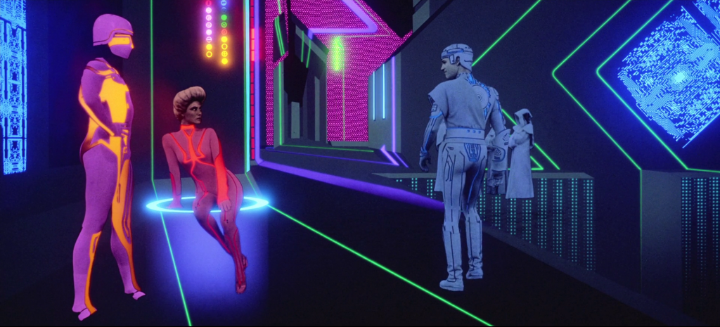 characters in original tron movie