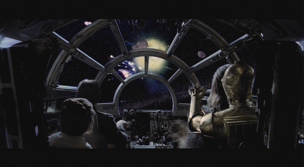 cockpit of the millennium falcon