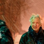 Alan Rickman outside of BAM