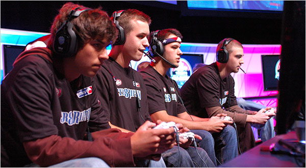 Professional Video Game Players