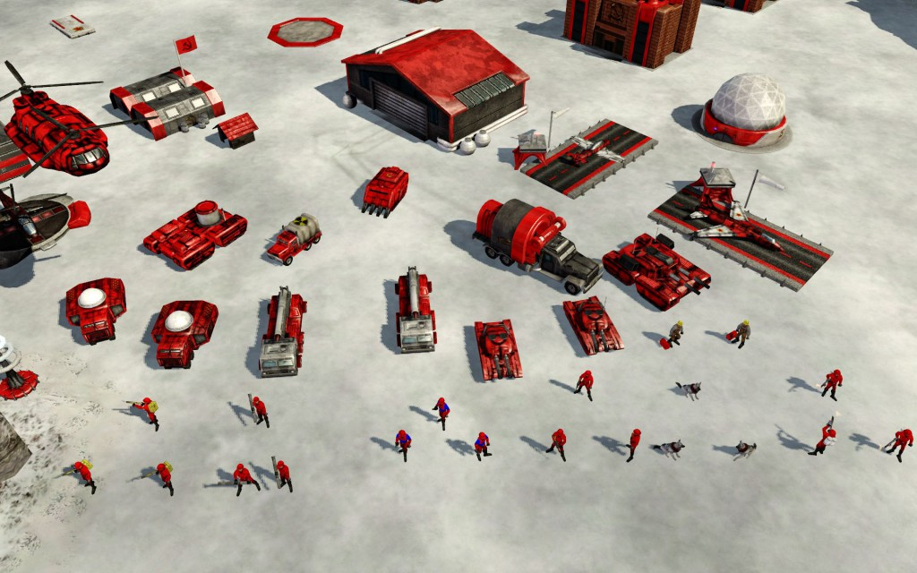 Command & Conquer: Red Alert vehicles