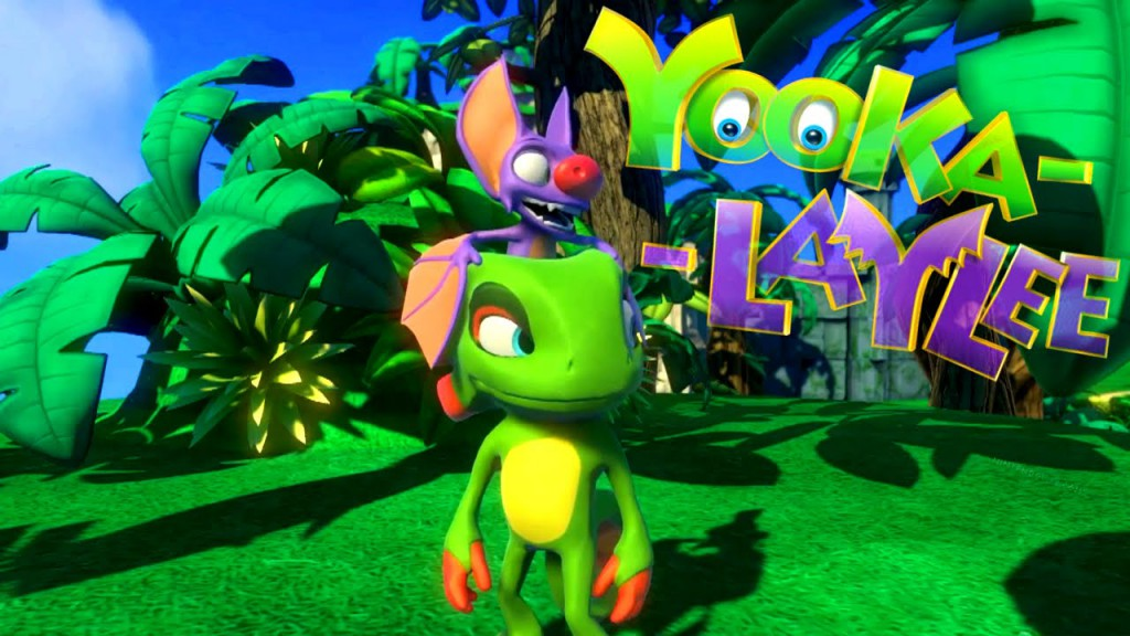 Yooka-Laylee title screen