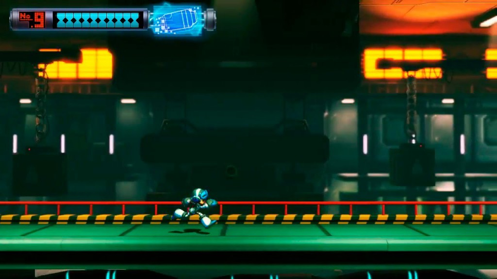 Mighty No. 9 screenshot