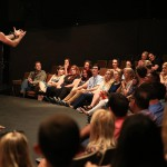 NYFA student gives monologue