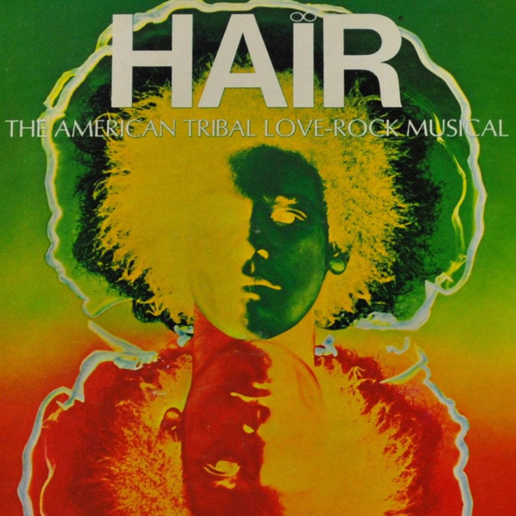 Hair musical original poster