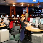 Channel 10 news room employees
