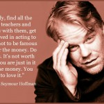 philip seymour hoffman quote on acting